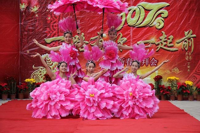 舞蹈表演《花开盛世》