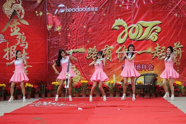 舞蹈表演《动感电提》