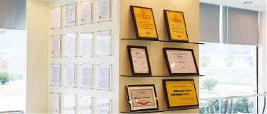 西奥多科技荣誉证书