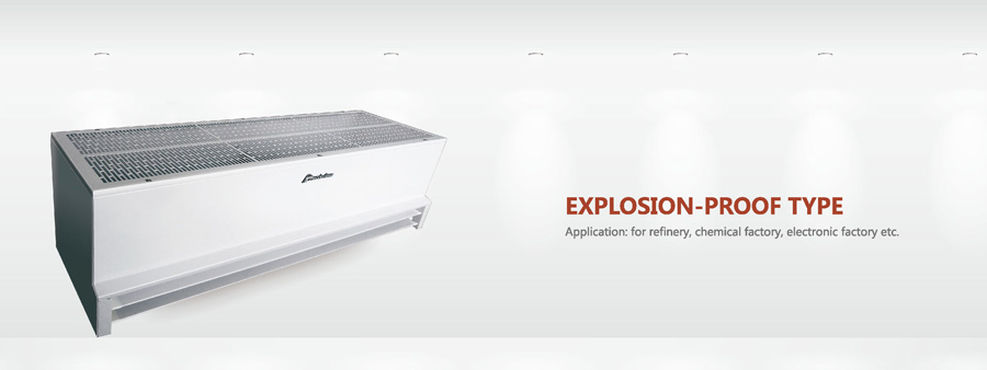 Explosion-Proof Type Air Curtain