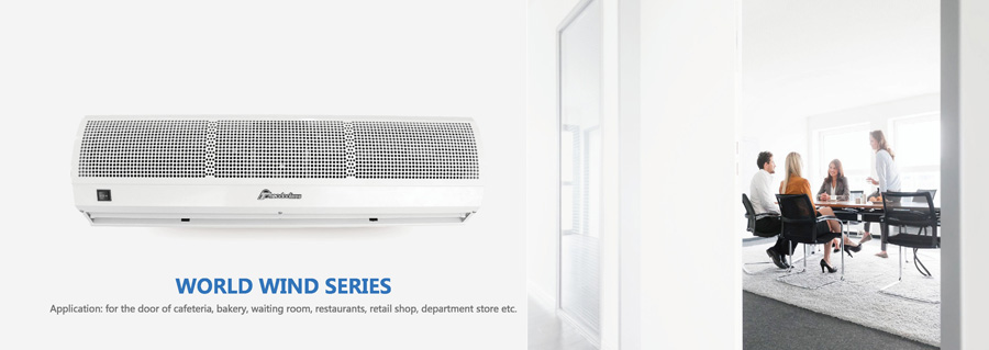 World wind series air curtain