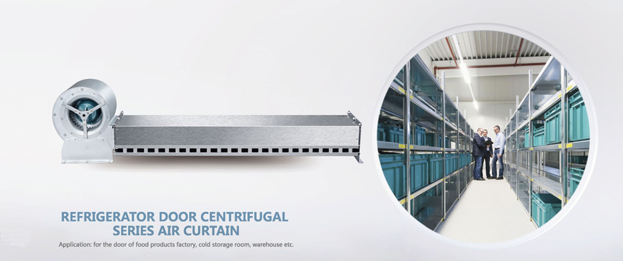 Refrigerator Door Centrifugal Series Air Curtain