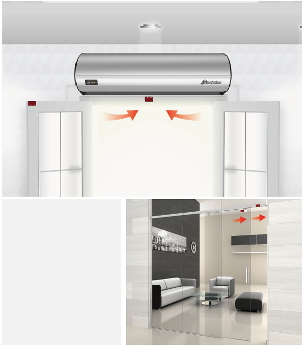 Theodoor air curtain